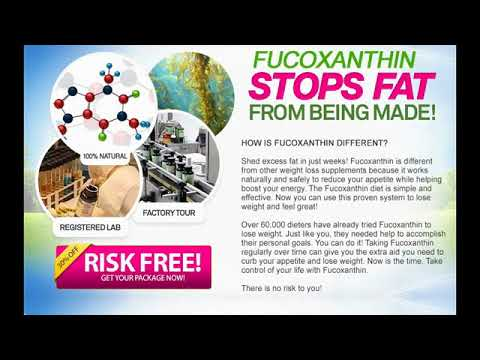 Pure Natural Fucoxanthin Supplement
