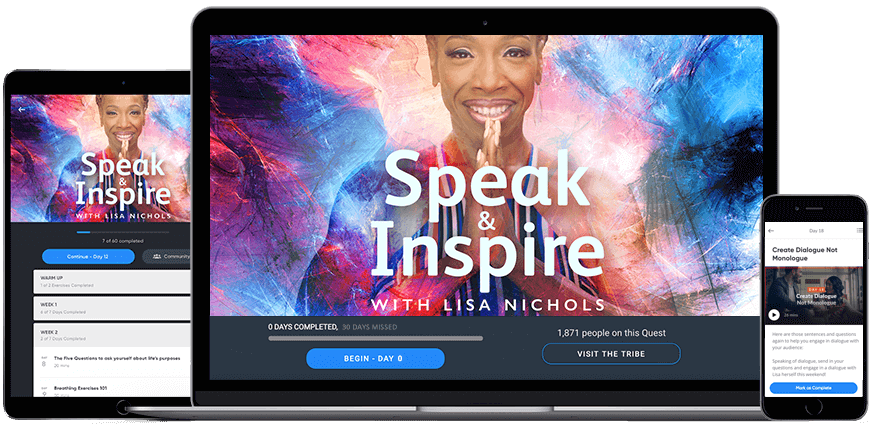 Speak and Inspire Product Image